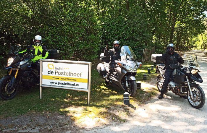 Motorrijden Bij Hotel de Postelhoef Foto Arrangement