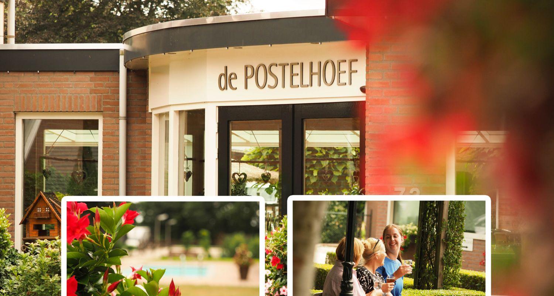 ingang Zwembad seniorenhotel de Postelhoef